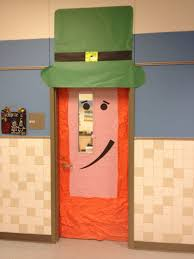 day door decorations s day leprechaun door decoration i like the simple