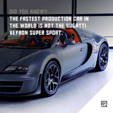 car bugatti 2017 the fastest production car in the world is not the bugatti veyron