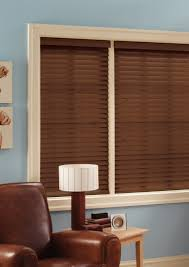 window image u0027s faux wood blinds offer the classic style of real