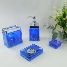 Royal Blue Bathroom Decor by Royal Blue Bathroom Decor Laminate In Black Tile Floor Rattan