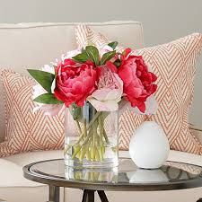 faux peonies 10 beautiful faux botanicals for tidbits twine