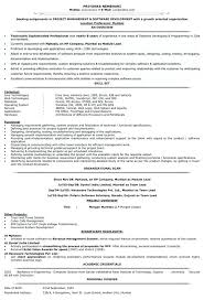 experienced resume sample resume format software software resume format 1 year experience