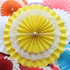 hanging paper fans supplies party paper fan hanging paper fan decoration for