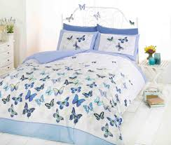 Blue Butterfly Curtains The Blue U0026 White Interior Trend On Trend