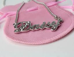 plated name necklace karat gold plated name necklace gifts