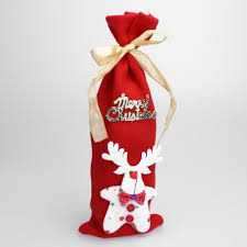 buy christmas wine bottle cover at direct discount outlet for only