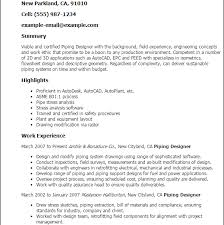 Modify Resume Download Piping Stress Engineer Sample Resume