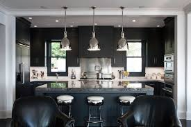 Amazing Modern Kitchen Cabinet Styles - Black lacquer kitchen cabinets