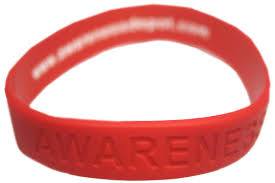 red silicone bracelet images Heart disease quot awareness quot bracelet gif