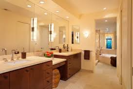 Best Bathroom Lighting For Makeup Recessed Lighting Above Bathroom Vanity Home Design Hay Us
