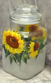 sunflower canisters for kitchen sunflower themed kitchen decor 9 best images on country