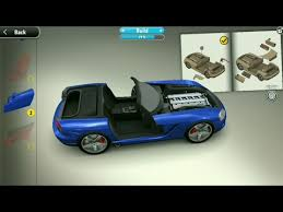 game design your own car build your own car bike plane etc with monzo app 3d graphics