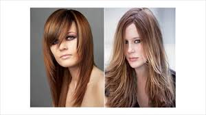 hair cuts for women long hair what hairstyles would suit a long face youtube