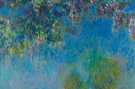 wisteria by monet wall mural murals wallpaper