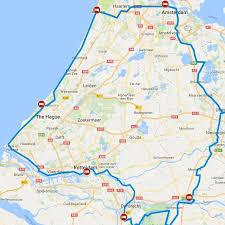 netherlands beaches map bike tour netherlands randstad tour