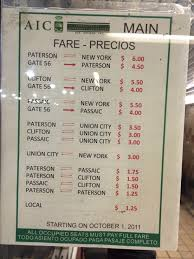 New York Bus Map by Paterson U2013 Port Authority Jitney Buses Of New Jersey