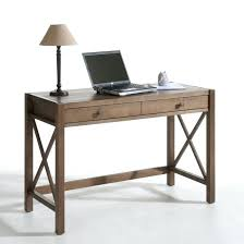 bureau en pin bureau console la redoute bureau pin massif coloris teck derry la