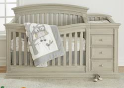 crib with changing table combo babies