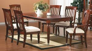 finish traditional 5pc dining room set w optional items