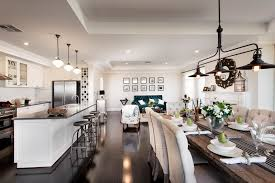 display home interiors the dining area light new home inspiration