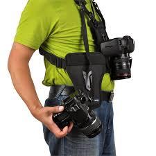 best dslr camera deals for black friday opteka mch 25 multi camera carrier harness holster system for dslr