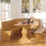 kitchen table with bench seating table decoration ideas