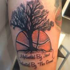 tree and basketball quote