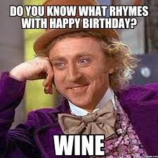 Birthday Memes For Facebook - hy birthday memes wine astronomybbs info the funnies pinterest