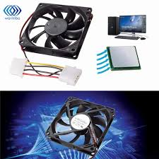 computer case fan sizes 1pc 9 leaf 4 pin 12v multi size silent cooler case fan heat sink