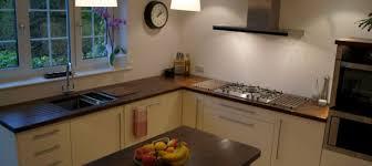 Normal Kitchen Design Gloss Walnut