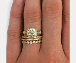 stackable wedding bands a major wedding ring trend of 2015 isn t about the engagement ring