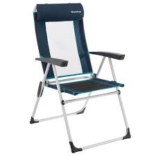 chaise pliante decathlon fauteuil inclinable bleu decathlon