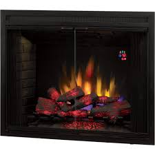 chimney free builders box led fireplace with doors u2014 1 440 watts