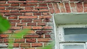 white painted brick wall stock footage video shutterstock