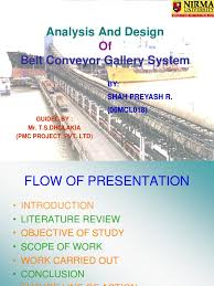 conveyor design belt mechanical deep foundation
