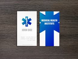 Medical Business Card Design Keywords Medical Doctor Healthcare Business Card Medical Card