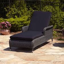Cushions For Wicker Patio Furniture - exterior black cape may wicker with cushions and side table on