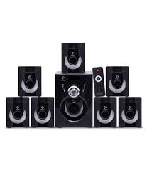 7 1 home theater systems buy i kall 7 1 channel tanyo ta 777 7 1 speaker system online at