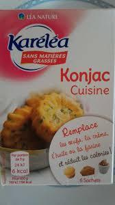 produit cuisine konjac cuisine karéléa 18 g 3 8 g