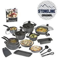 batterie de cuisine en stoneline stoneline set de 20 pièces en moule livre m6 boutique