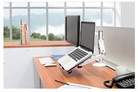 Best Laptop Stand For Desk 2018 Portable Laptop Stand Adjustable Desktop Computer Monitor For