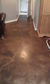 Basement Floor Finishing Ideas Acid Stain Basement Remodel Directcolors Com Concrete Sealer