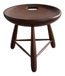 Milking Tables Fine Milking Stool By Sergio Rodrigues For Oca Brazil 1954