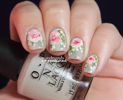 wondrously polished 31 day nail art challenge day 15 delicate