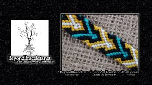 bracelet tutorials youtube images Friendship bracelet tutorial beginner diamond chevron jpg