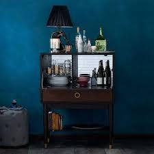west elm bar cabinet victuals walnut brown bar cabinet