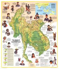 Asia Maps by Peoples Of Mainland Southeast Asia Map 1971 Maps Com
