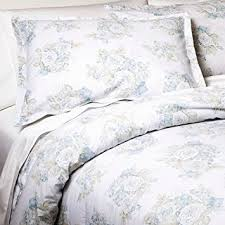 Twin Bed Comforter Sets Amazon Com Simply Shabby Chic Twin Bed Comforter Set Pretty Blue