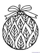 christmas ornaments coloring 1 1 1 u003d1