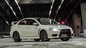 mitsubishi japan the end of an iconic sports sedan u2026 u2026mitsubishi lancer evo u2013 drive